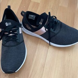 Like New!  Black/Rose Gold New Balance Sneakers